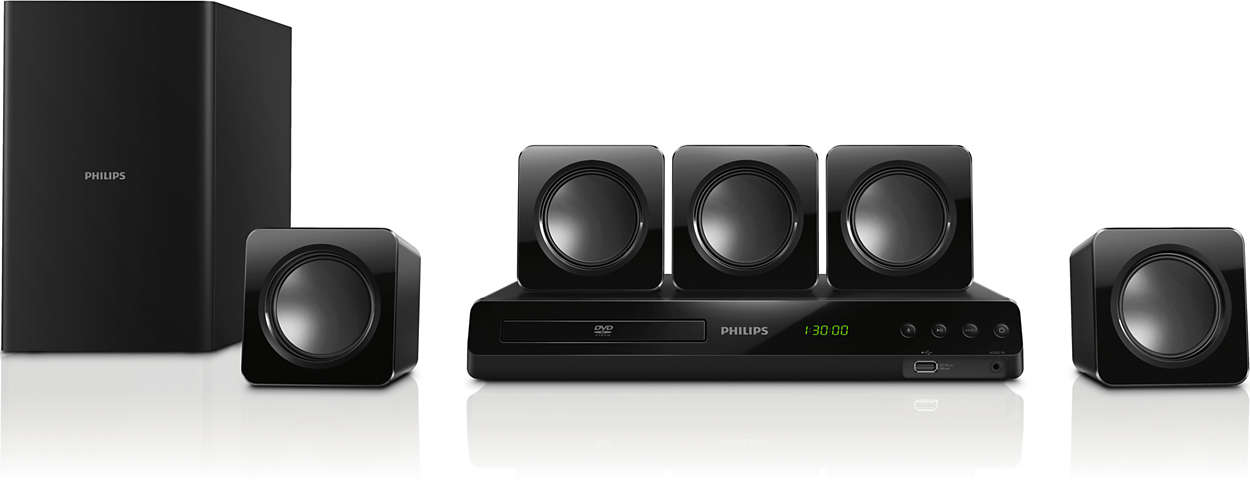 Sonido Surround Sound potente desde altavoces compactos