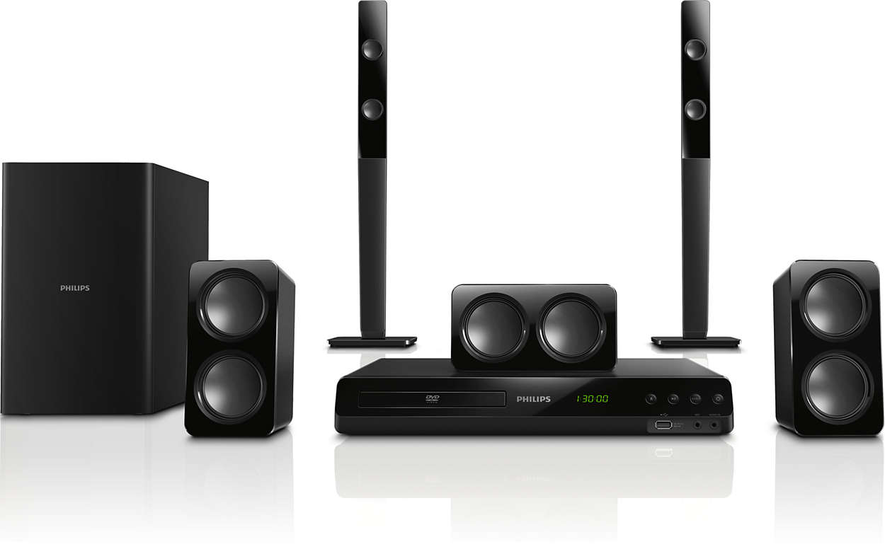 5.1 Home theater HTD3540/98