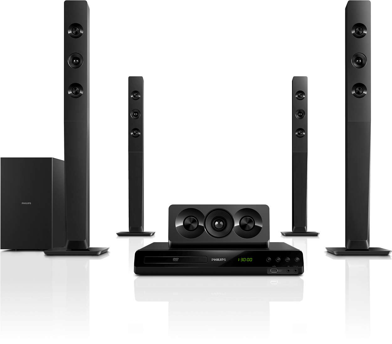 Philips Home Theater System  Watts