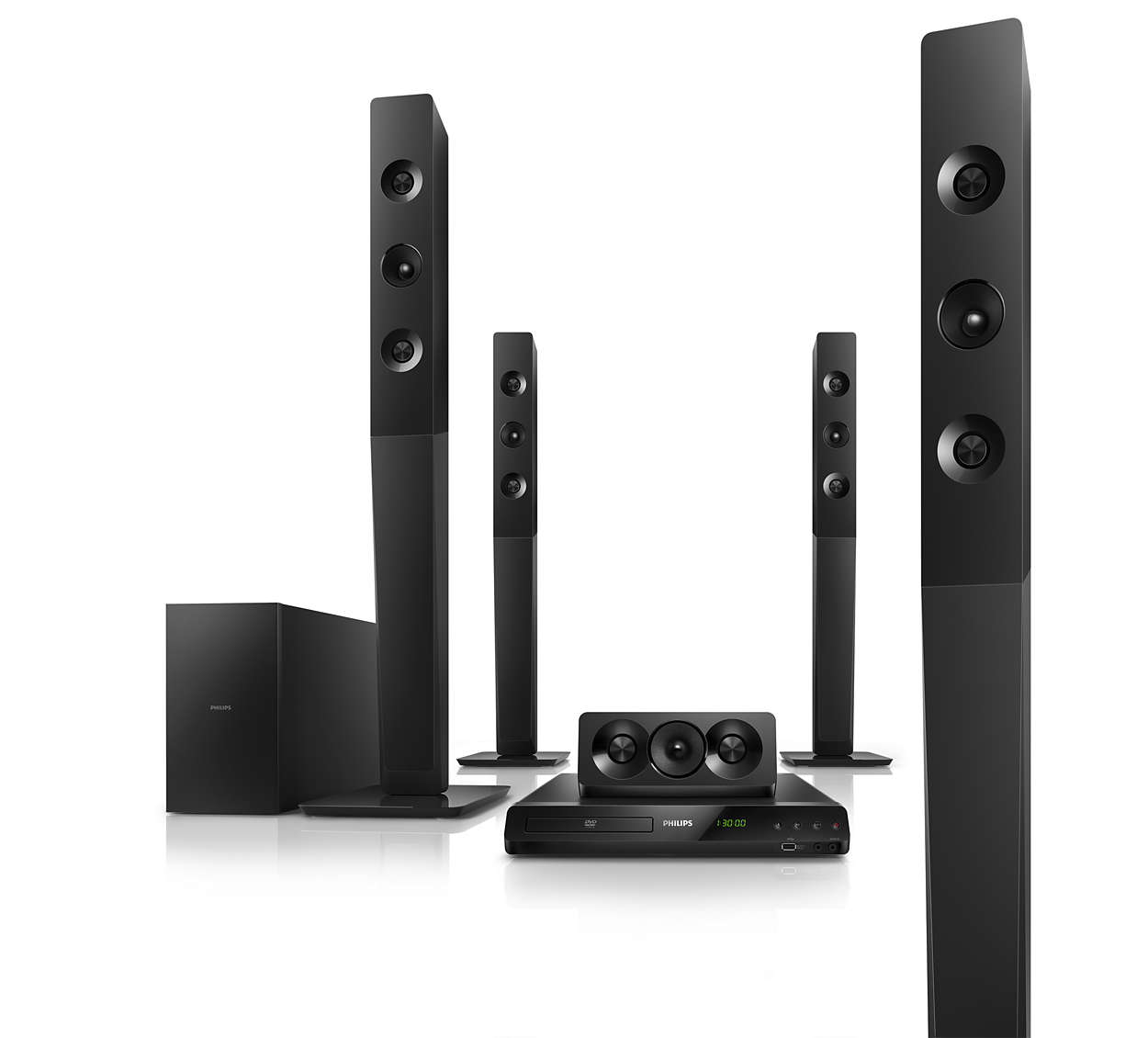 5 1 Dvd Home Theater Htd5580 98 Philips
