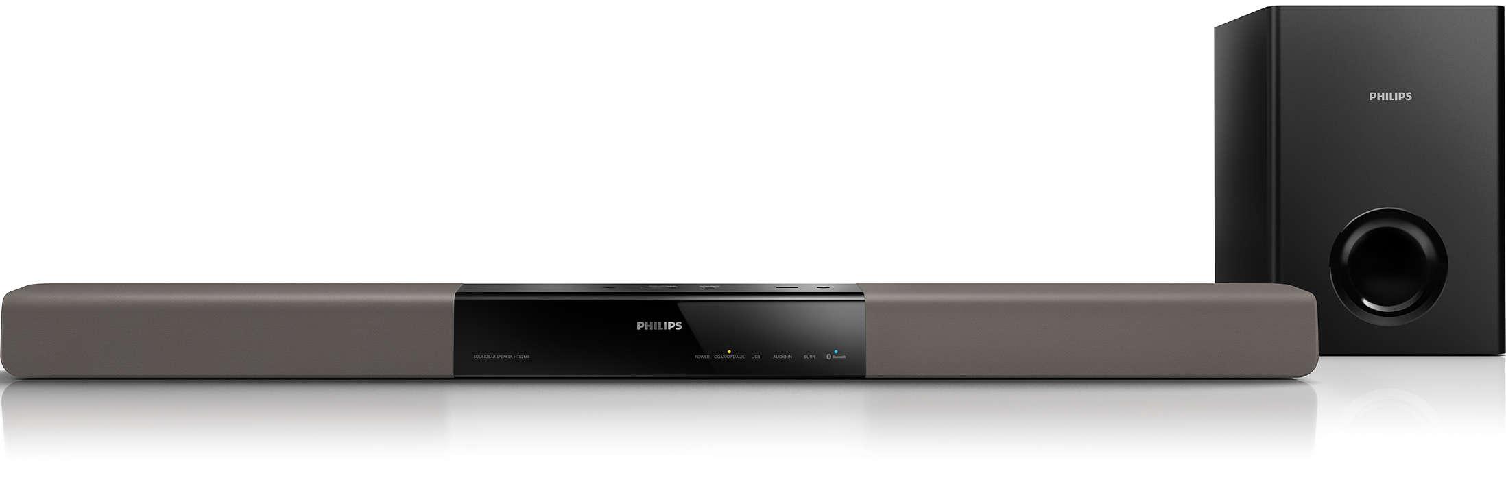 Audio potente per qualsiasi TV