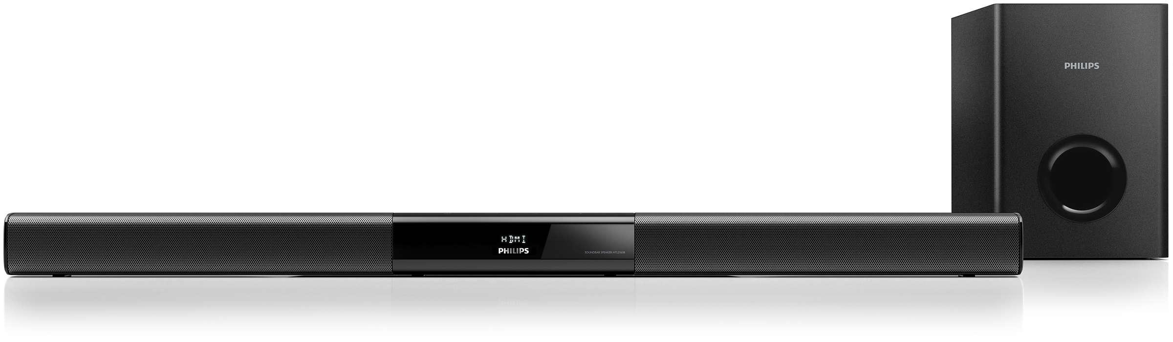 Silný zvuk pro jakýkoli televizor