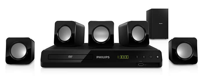 Potente sonido Surround