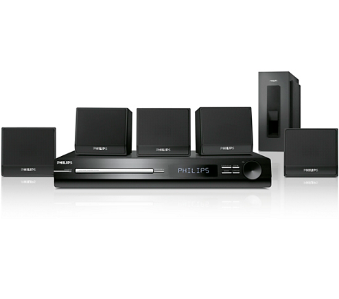 Philips Hts   Channel Home Theatre System