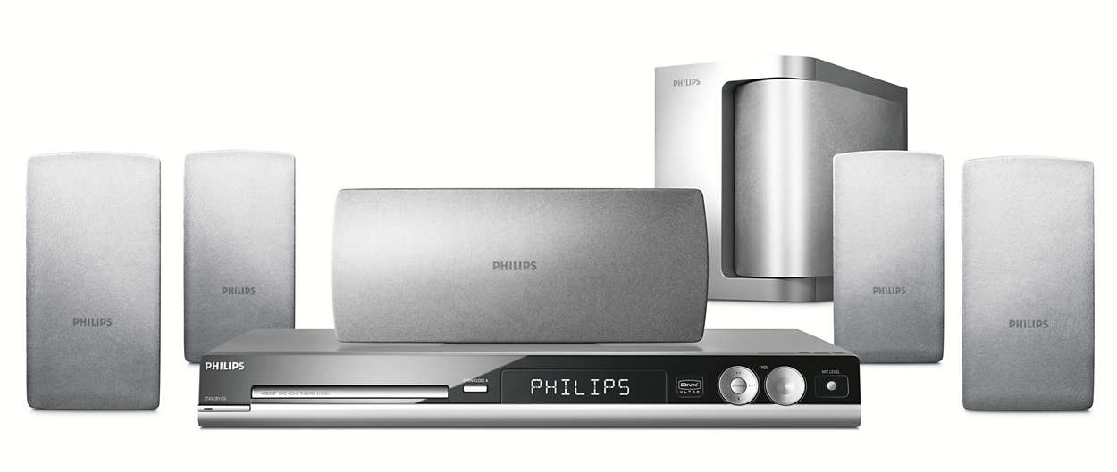 Dvd Home Theater System Hts3107 98 Philips