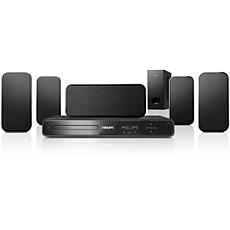 HTS3164/12 -    Sistema de cine en casa con DVD