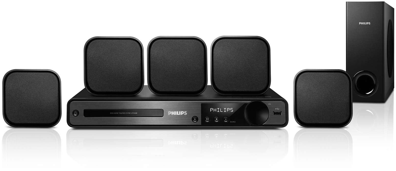 Audio surround di ottima qualità e nitidezza superiore