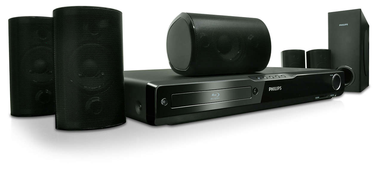 Philips Hts Home Theater System Specifications