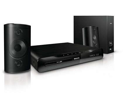 Wyrazisty dźwięk podczas oglądania filmów i słuchania muzyki