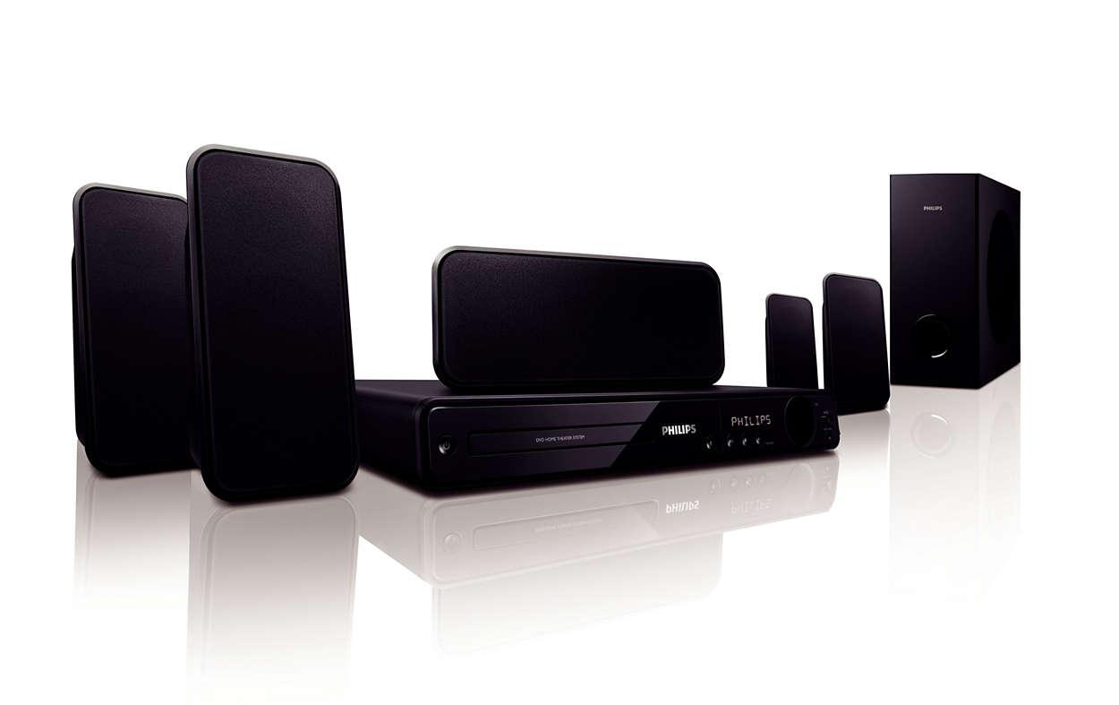 Úžasný priestorový zvuk v dokonalej kvalite