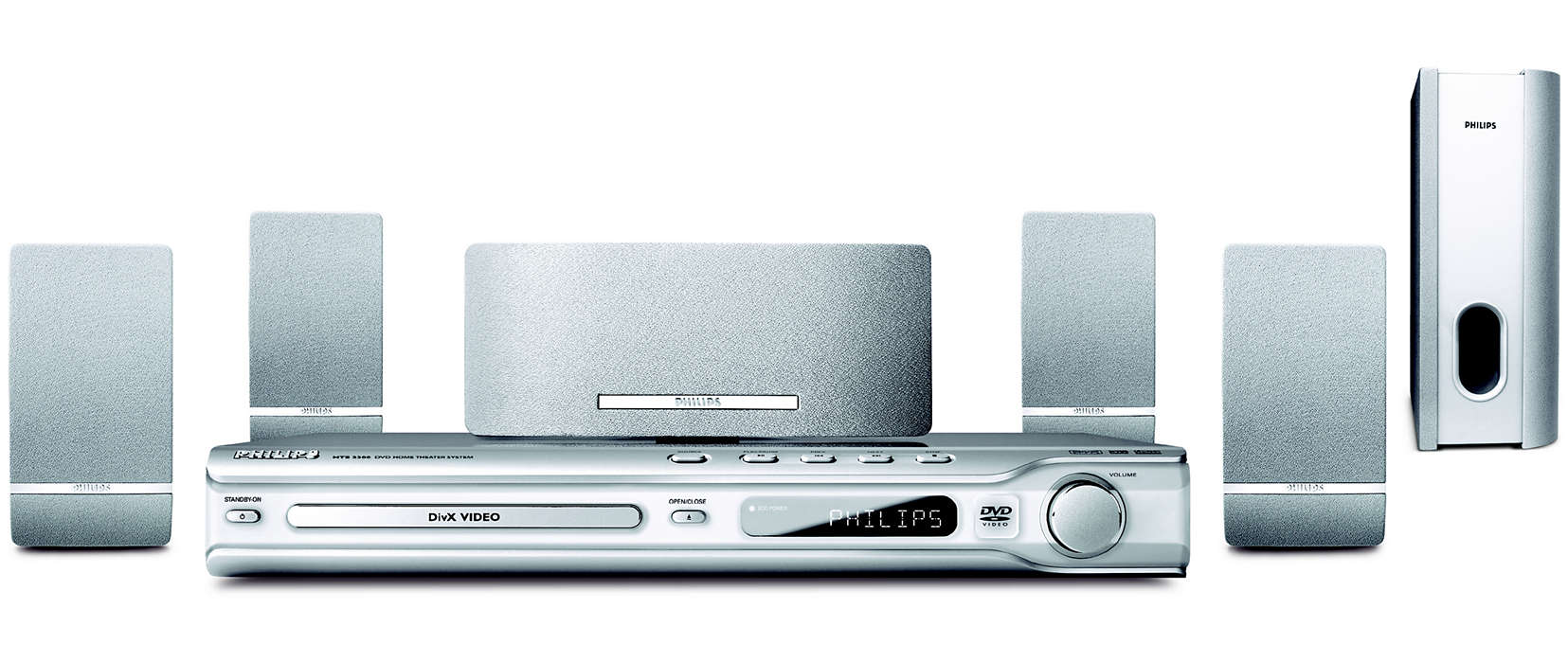 DVD home theatre system HTS3300/12 | Philips