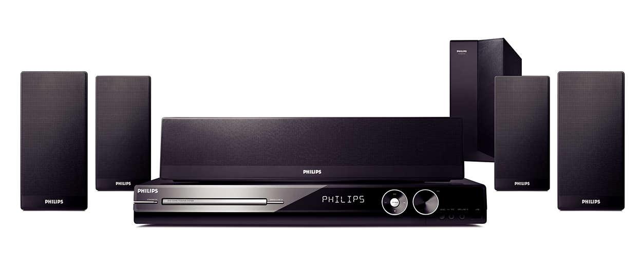 Agora você pode desfrutar de vídeos e som surround de alta def.