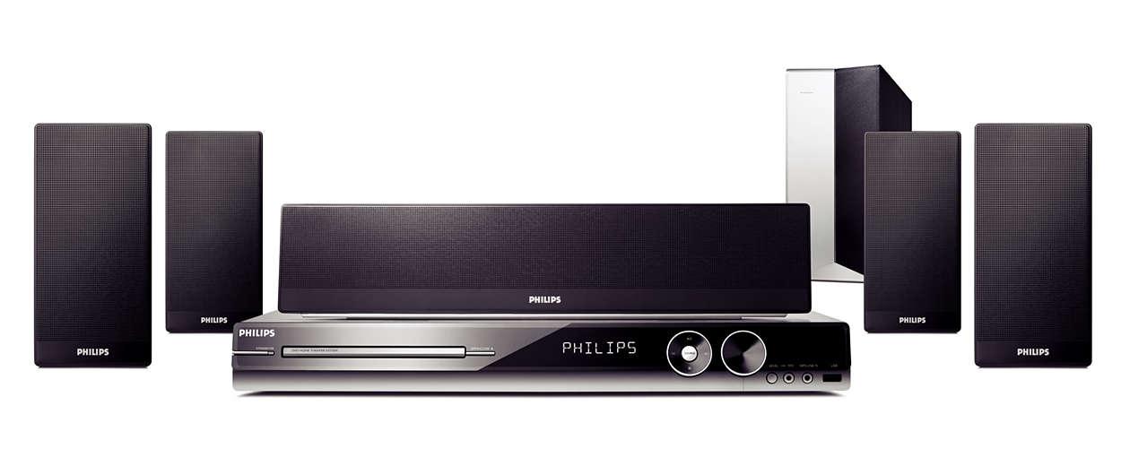 Disfruta de video de alta definición y sonido envolvente