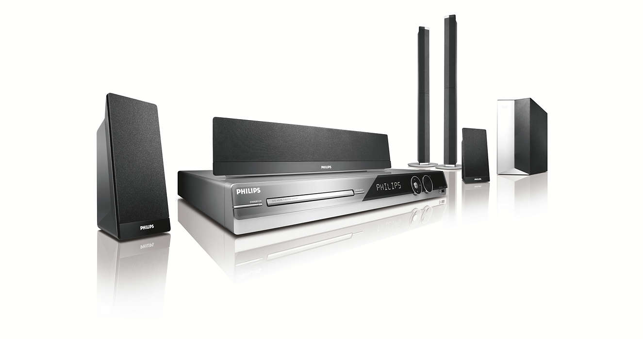 Now enjoy high definition video and surround sound