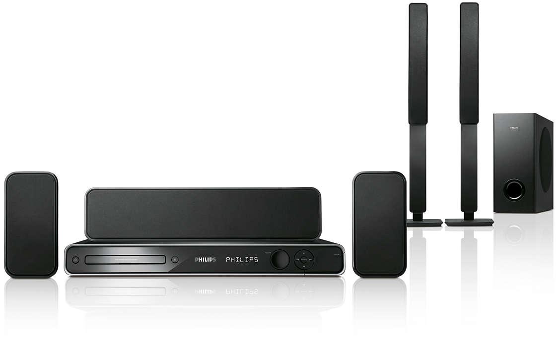Imagine video HD şi sunet surround