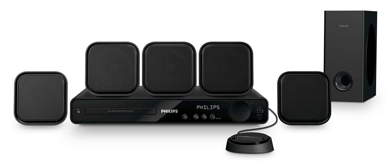 51 Home Theater Hts3371df7 Philips
