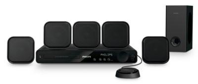 Philips HTS3371D/F7E Home Theater Mac