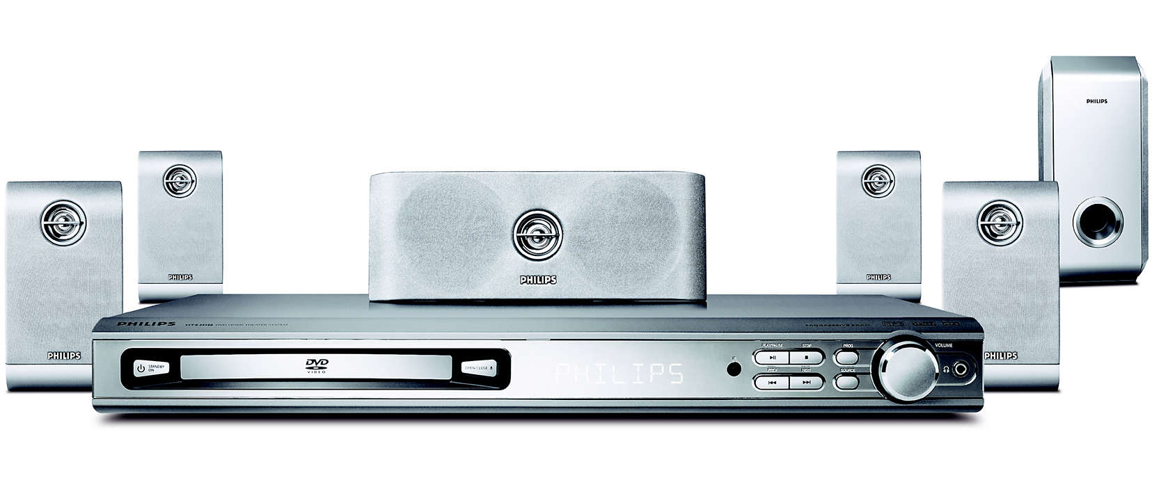 DVD home theater system HTS3410D/37 | Philips