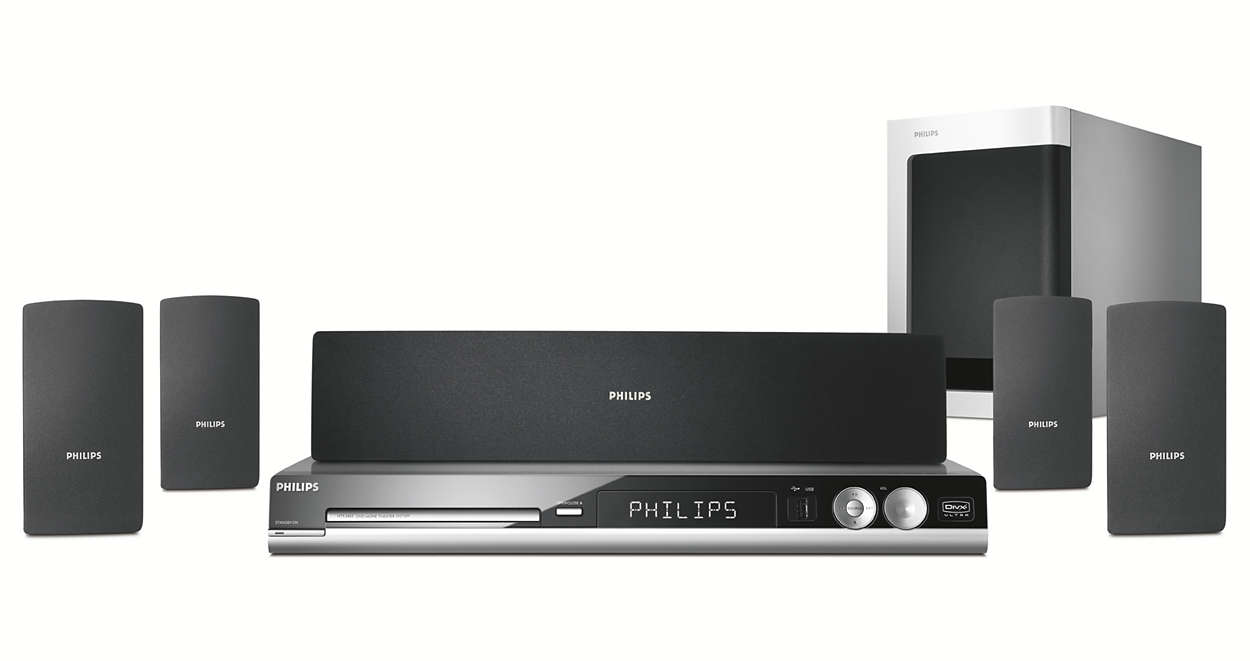 Philips   Home Theater User Manual