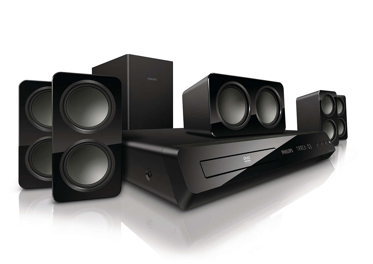 Krachtige Surround Sound