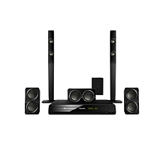 HTS3538/40 -    5.1 Home theater