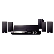 HTS3555/37  Sistema de Home Theater con DVD