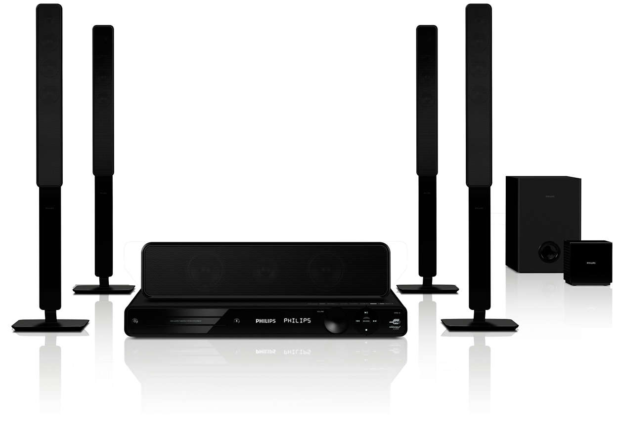 5 1 Home Theater Hts3578w 98 Philips