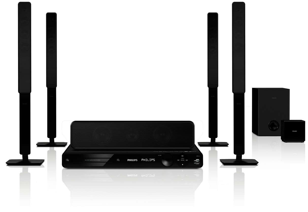 Wireless Home Cinema. axiim s wireless home theater audio system ...