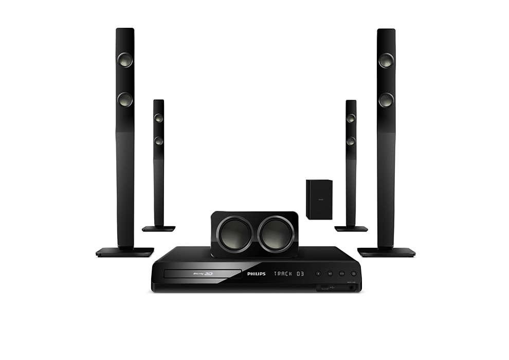 Audio surround potente