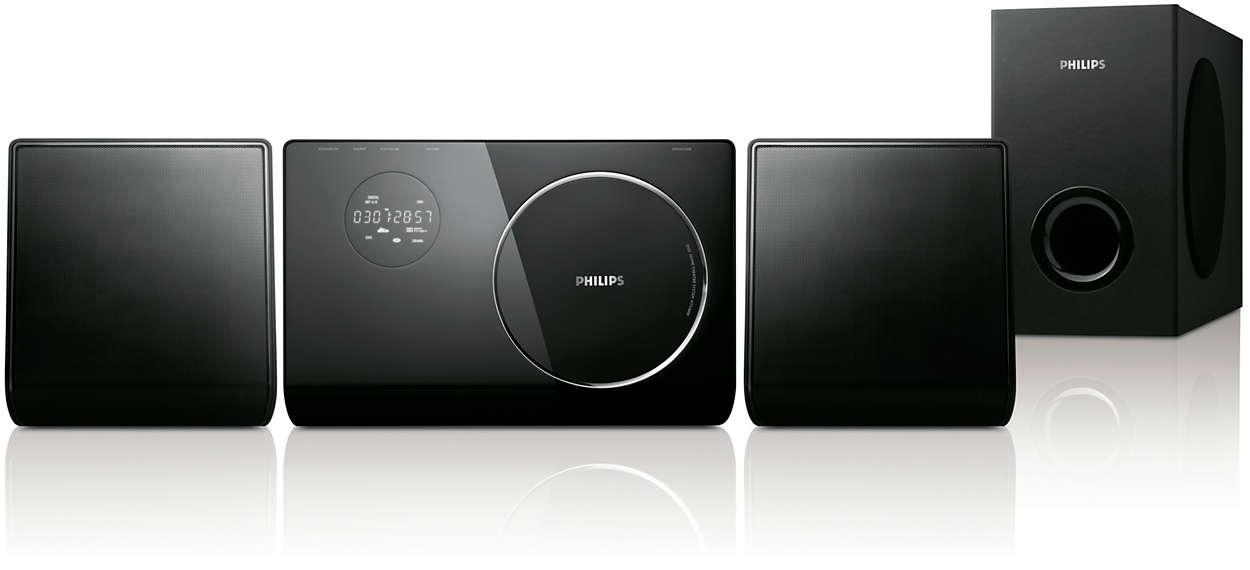 Utformad för att matcha din platt-TV