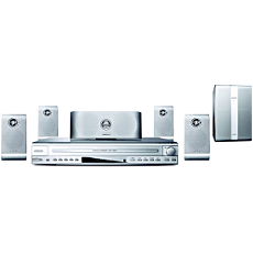 HTS5500C/55  Home Theater c/disqueteira p/5 DVDs/CDs