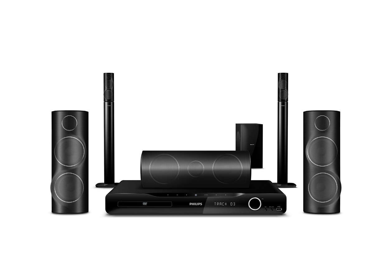 5.1 Home theater HTS5540/98 | Philips