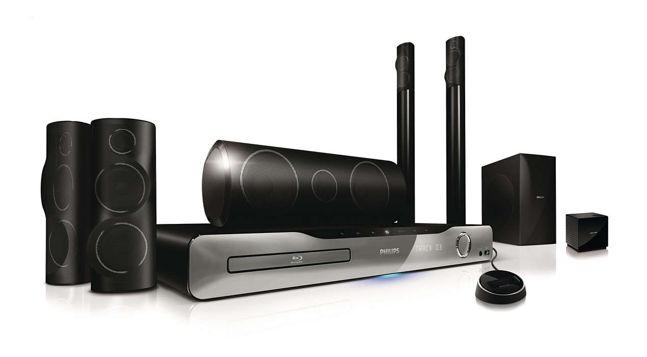 5.1 Home theater HTS5580W/F7 | Philips