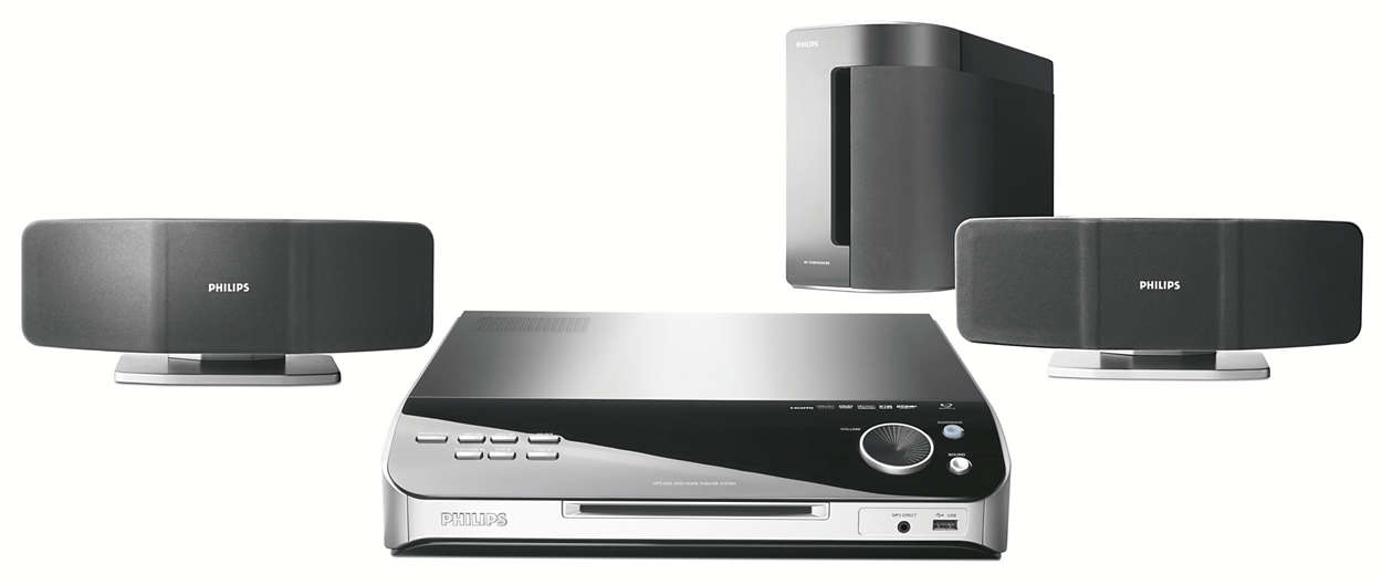 dvd home theatre system hts6500 55 philips. Black Bedroom Furniture Sets. Home Design Ideas