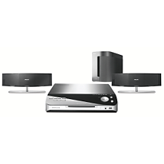 HTS6510/12 -    DVD Home Entertainment-System