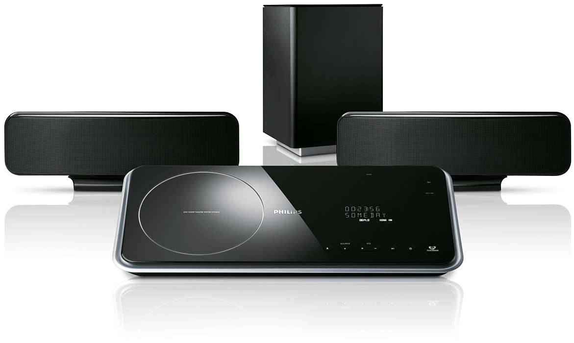 Home Theater con menos altavoces