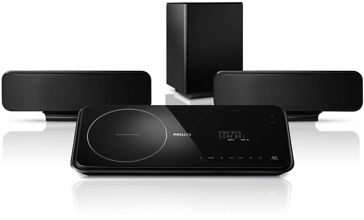 2 1 Home theater HTS6520/98 | Philips