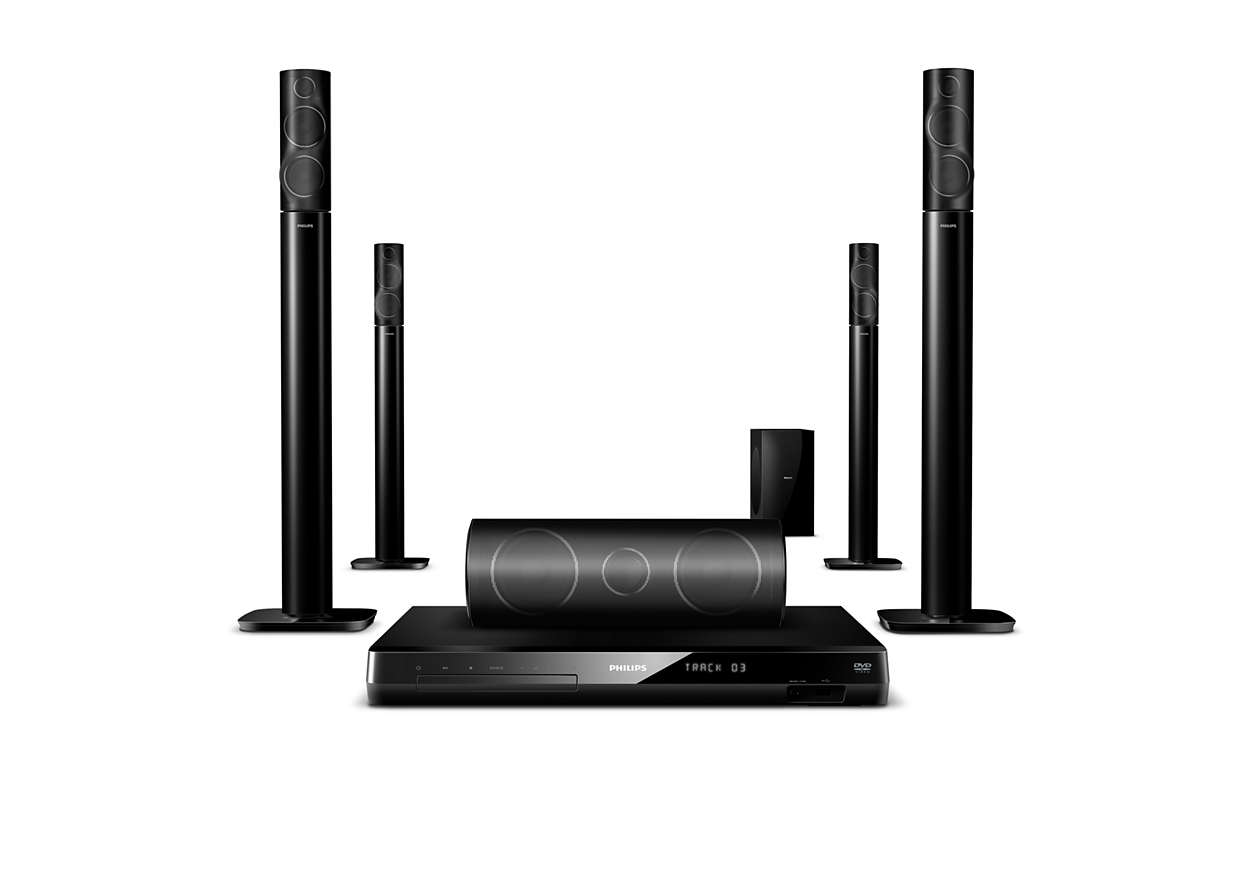 immersive sound home theater hts6553 94 philips. Black Bedroom Furniture Sets. Home Design Ideas