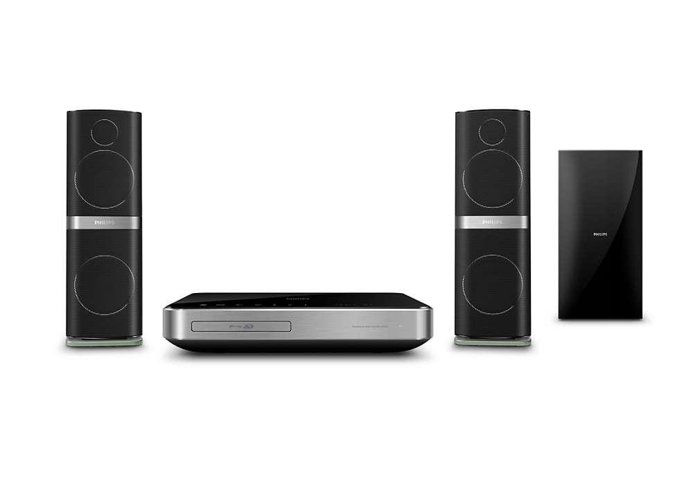 Kristallklarer Sound für Filme und Musik