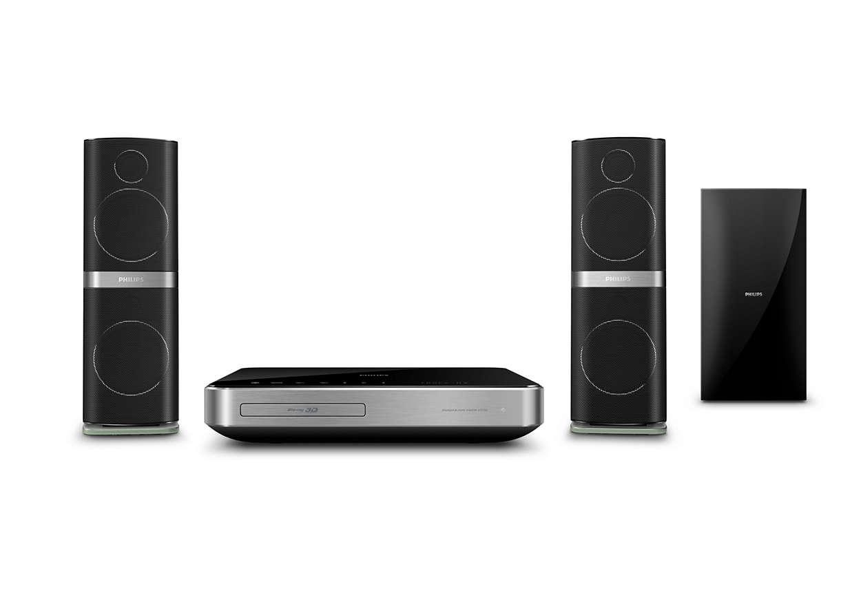 Crystal Clear Sound para filmes e música