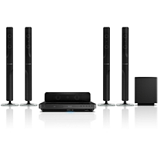HTS7540/98  5.1 Home theater