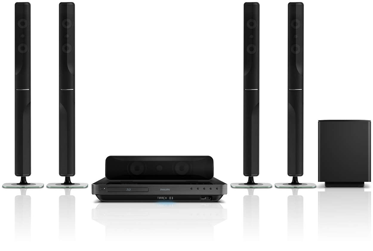 5 1 Home Theater Hts7540 98 Philips