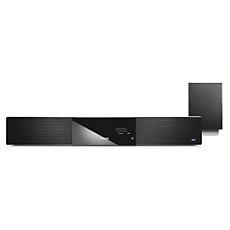 HTS8100/37 -    SoundBar DVD home theater