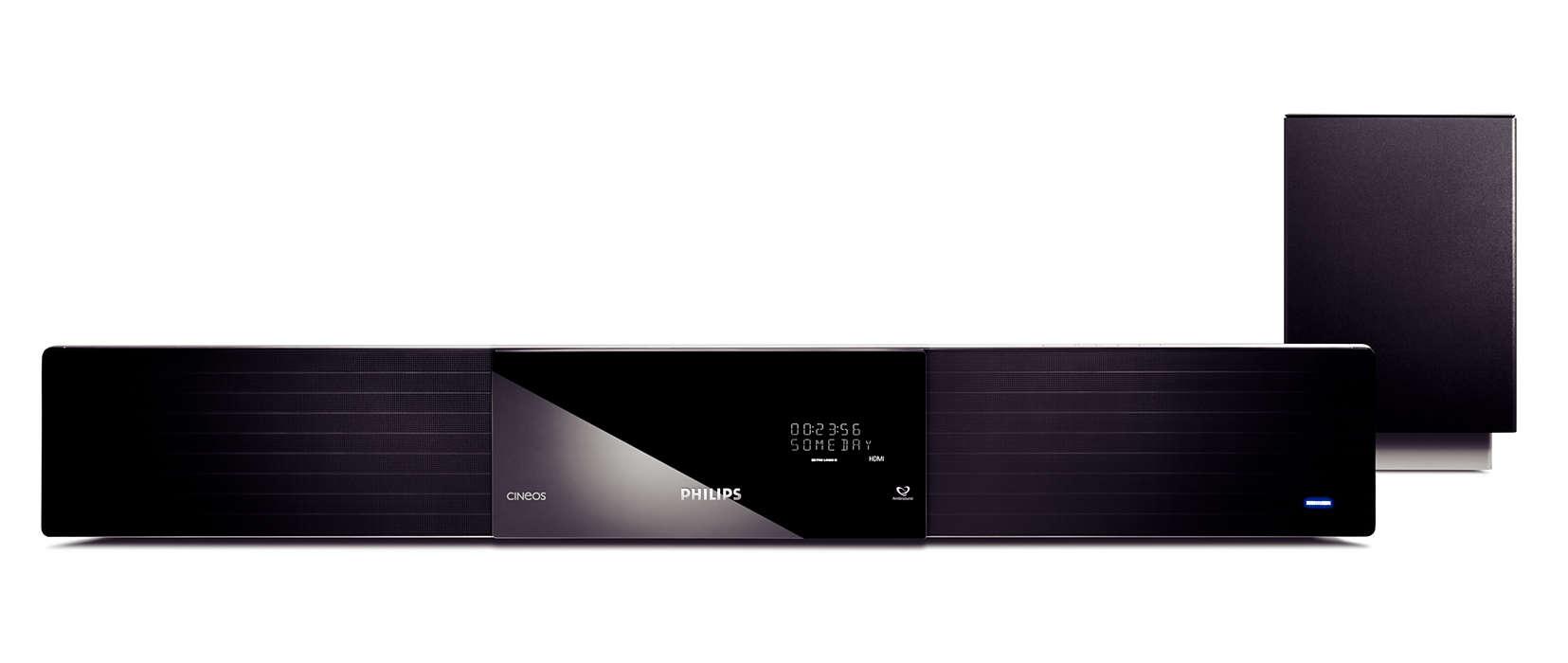 SoundBar DVD home theater HTS8100/59 | Philips