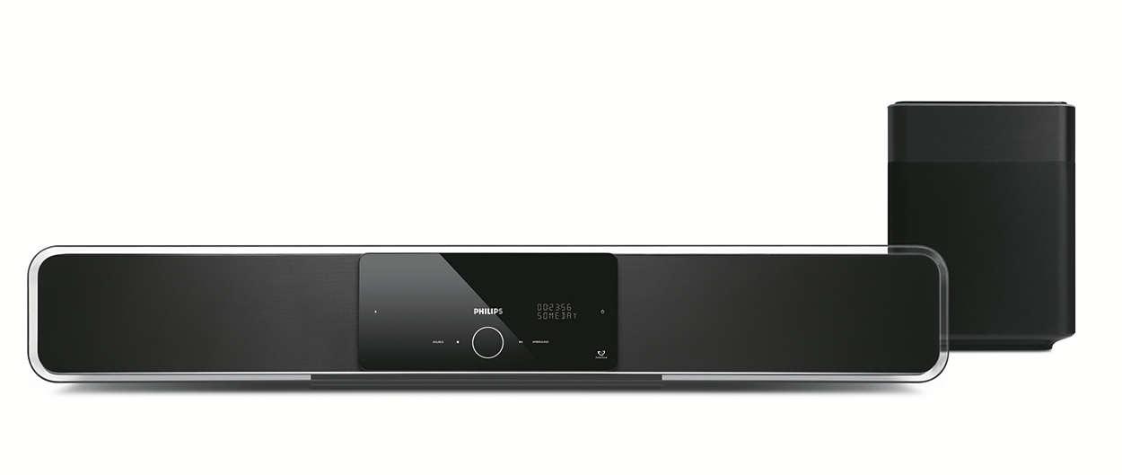 Zestaw kina domowego SoundBar w nowym wymiarze