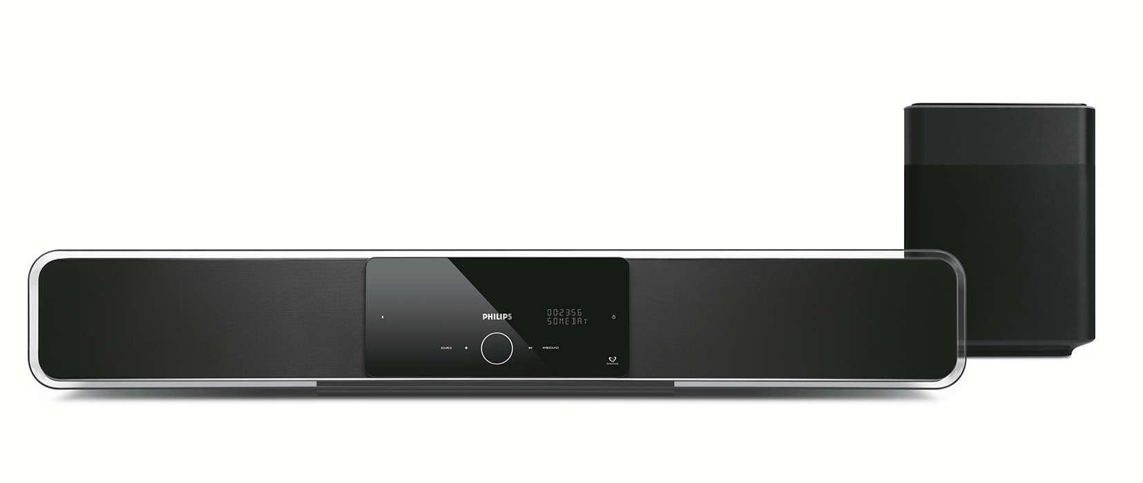 Soundbar s novým rozmerom