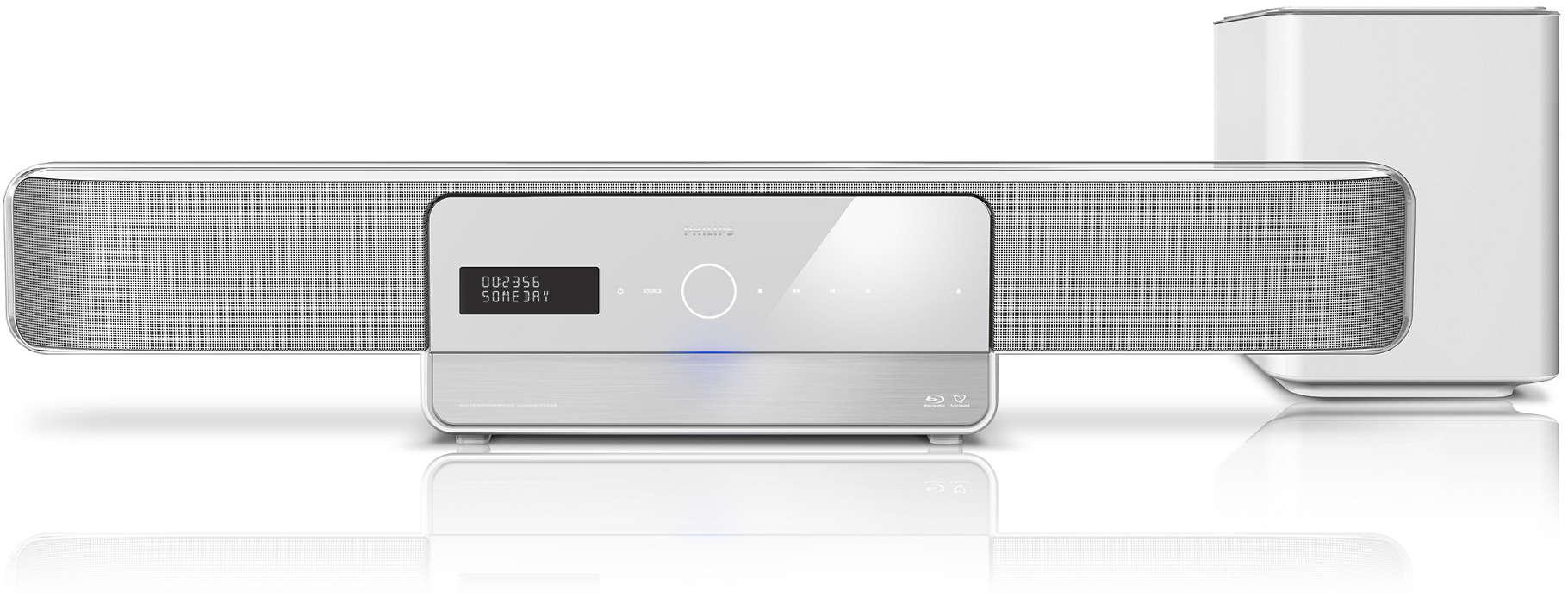 Объемный HD звук из одного источника