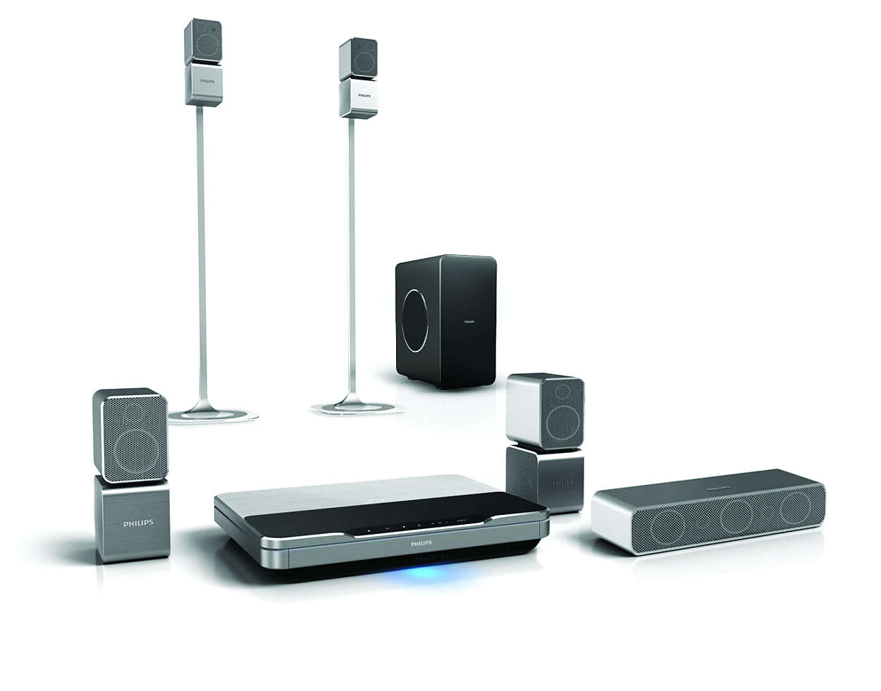 5.1 Home theater HTS9520/51 | Philips