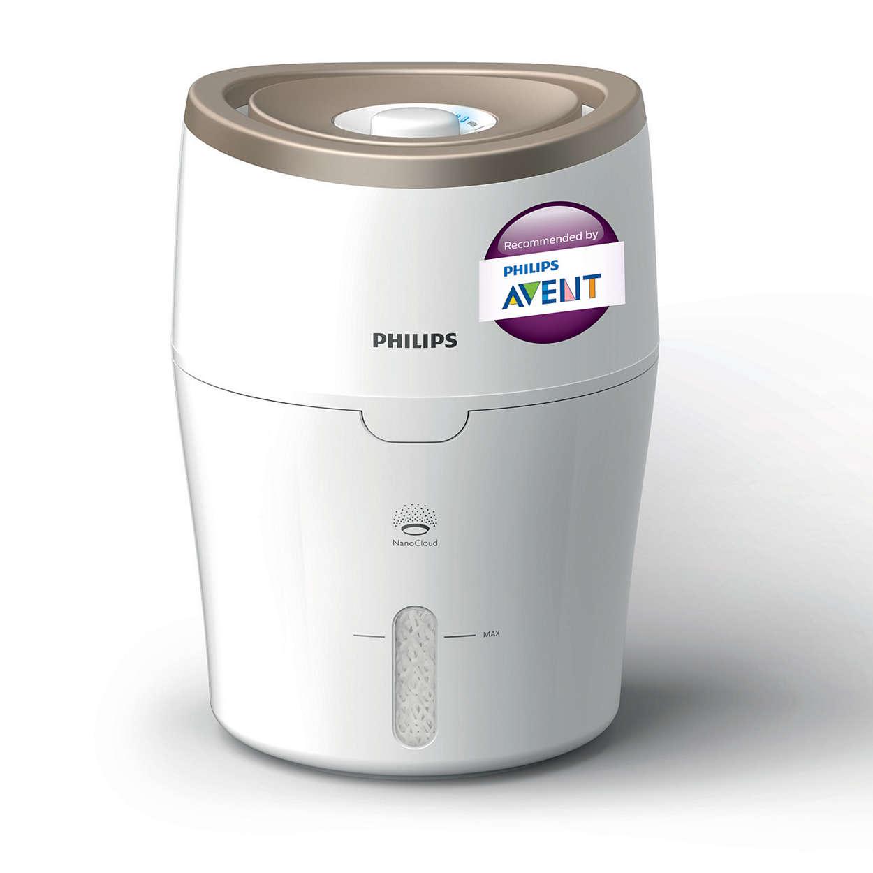 Series 2000 جهاز ترطيب الهواء Hu4811 30 Philips