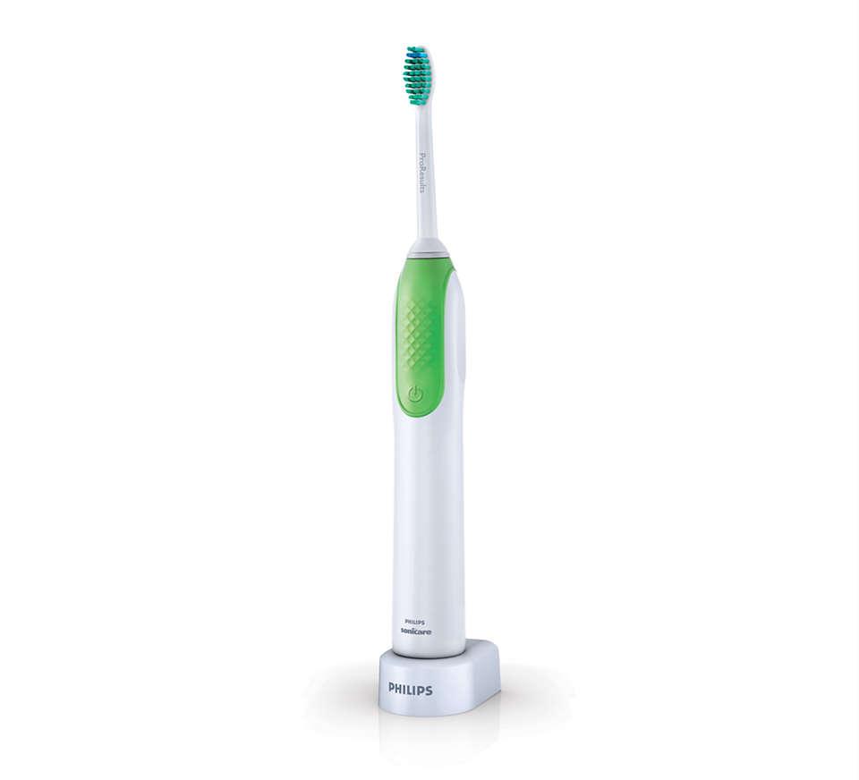 Fjerner plakk bedre enn en vanlig tannbørste